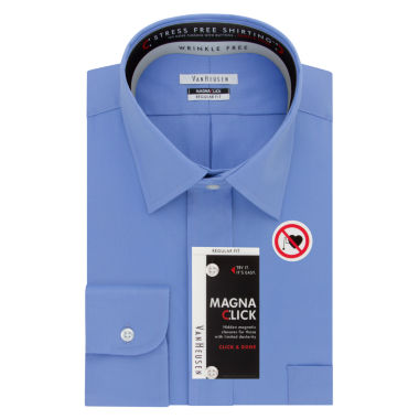jcpenney.com | Van Heusen Easy-Care Magnaclick Long Sleeve Dress Shirt