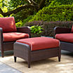 Kiawah Wicker Patio Ottoman