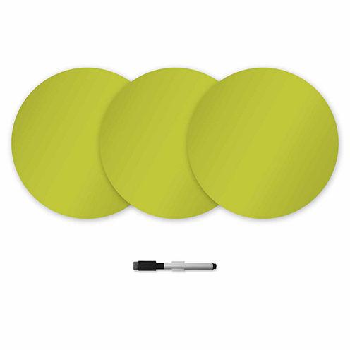 WallPops Samara Dry Erase Dots Decal- Set of 6