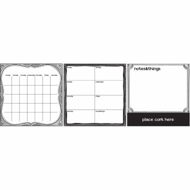 jcpenney.com | WallPops Black And White 6 Pc Combo Set