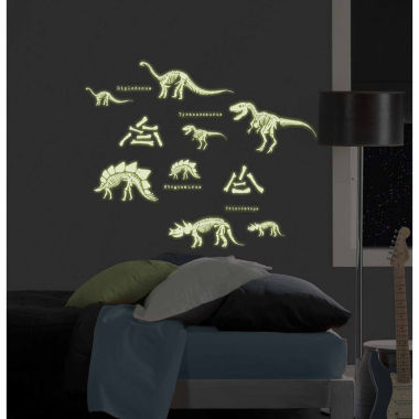 jcpenney.com | WallPops Dinosaurs Glow In The Dark Wall Art Kit