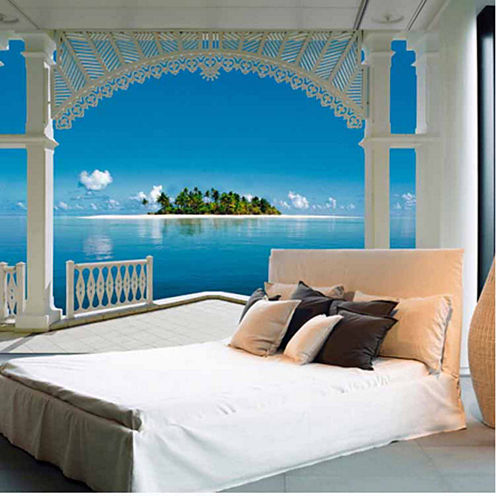 Ideal Décor A Perfect Day Wall Mural