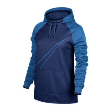 jcpenney.com | Nike® Long-Sleeve Therma All Time Swoosh Po Hoodie
