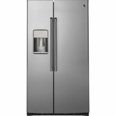 jcpenney.com | GE Cafe Series 21.9 cu. ft. Counter-Depth Side-By-Side Refrigerator