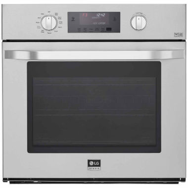 "jcpenney.com | LG 30"" Single Wall Oven with True Convection System"