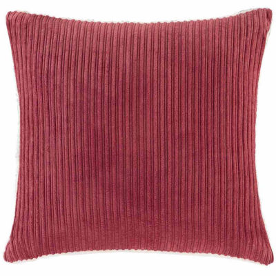 Jcpenney Red Decorative Pillows : Madison Park Jackson Corduroy Plush Square Throw Pillow - JCPenney