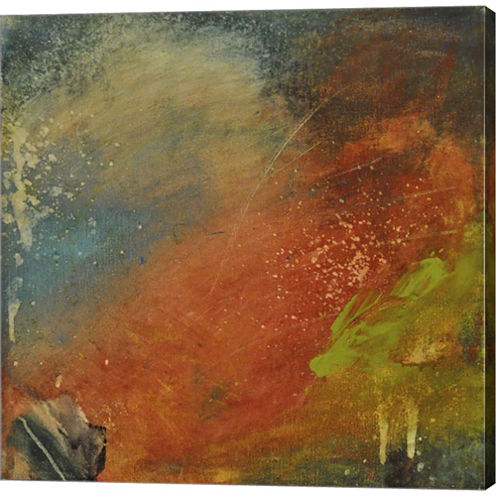 Rusted Nova Gallery Wrapped Canvas Wall Art On Deep Stretch Bars