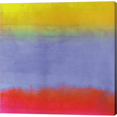 Gradients III Gallery Wrapped Canvas Wall Art On Deep Stretch Bars