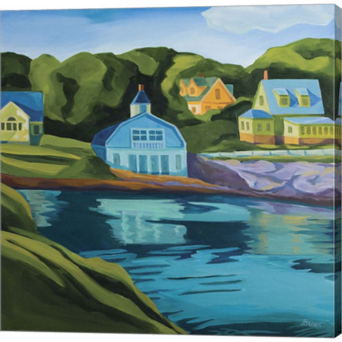 Booth Bay Gallery Wrapped Canvas Wall Art On Deep Stretch Bars