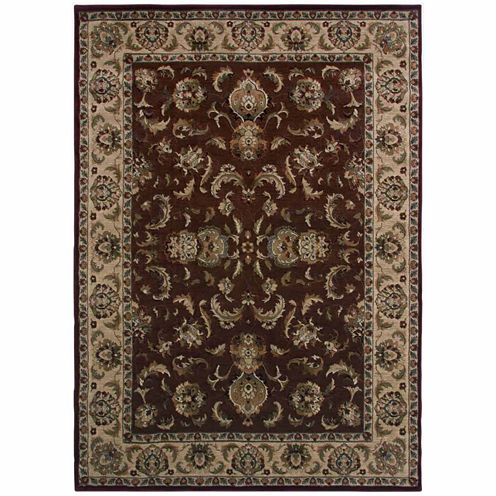Rizzy Home Bellevue Collection Power-Loomed Christian Geometric Rug