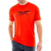 Reebok® Short-Sleeve Vector Tech Top
