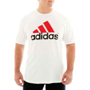 adidas® Logo Tee-Big & Tall