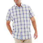 TailorByrd Short-Sleeve Woven Shirt – Big & Tall