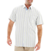 TailorByrd Short-Sleeve Woven Shirt–Big & Tall