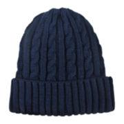 Stafford® Cable-Knit Cuff Beanie