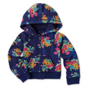 Arizona Full-Zip Hoodie - Girls 3m-24m