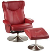 Michael 2-pc. Recliner and Ottoman Set