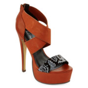 Michael Antonio Tossa Strap Platform Sandals