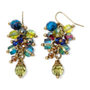 Aris by Treska Venice Multicolor Bead Cluster Earrings