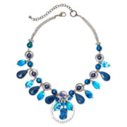 Aris by Treska Baltimore Blue Bead Shaky Necklace