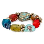 Aris by Treska Multicolor Chunky Bracelet
