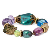 Aris by Treska Venice Multicolor Bead Stretch Bracelet