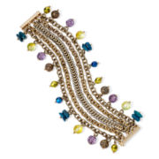 Aris by Treska Venice Multicolor Bead Statement Bracelet
