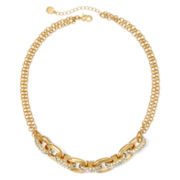 Monet® Crystal Link Necklace