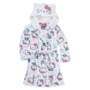 Hello Kitty® Fleece Robe - Preschool Girls 2t-4t