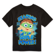 Reading Graphic Tee - Toddler Boys 2t-5t