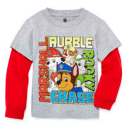 Paw Patrol Long-Sleeve Graphic Tee - Toddler Boys 2t-5t