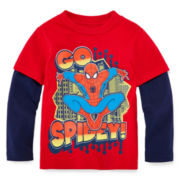 Spider-Man Layered Tee - Toddler Boys 2t-5t
