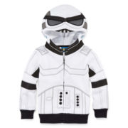 Storm Trooper Zip-Front Hoodie - Toddler Boys 2t-5t