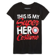 Captain America Costume Tee - Girls 7-16