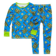 Cuddl Duds® TMNT Thermal Layering Set - Toddler Boys 2t-5t