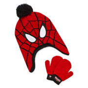 Spider-Man Hat and Mittens Set - Toddler Boys 2t-4t