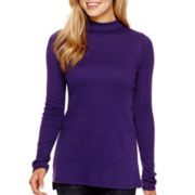 Arizona Long-Sleeve Ribbed Tunic