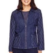 Alfred Dunner® El Dorado Long-Sleeve Denim Jacket