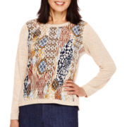 Alfred Dunner® El Dorado Long-Sleeve Top
