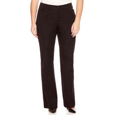 jcpenney.com | St. John's Bay® Bi-Stretch Pants - Plus
