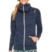Reebok® Elements Neon Slub Full-Zip Jacket