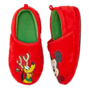 Disney Collection Mickey Mouse Holiday Slippers - Boys