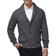 Haggar® Shawl-Collar Cardigan Sweater