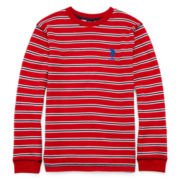 U.S. Polo Assn.® Striped Thermal Shirt - Boys 8-18