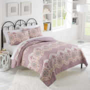 Vue™ Lila Reversible Quilt Set
