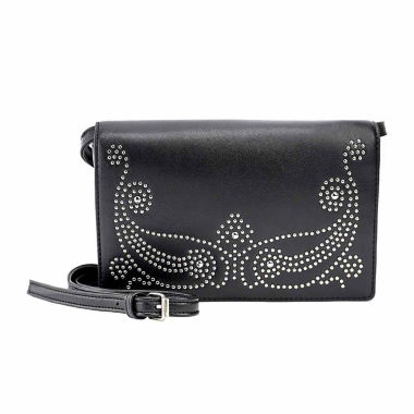 jcpenney.com | Olivia Miller Vania Western Studded Flap Crossbody Bag
