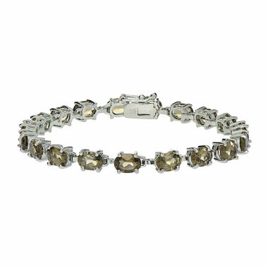 jcpenney.com | Genuine Smoky Quartz Sterling Silver Bracelet