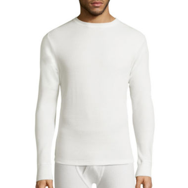 jcpenney.com | St. John's Bay® Long-Sleeve Heavyweight Waffle Thermal Shirt