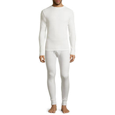 jcpenney.com | St. John's Bay® Heavyweight Waffle Thermal Shirt or Pants