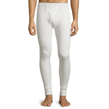 jcpenney.com | St. John's Bay® Heavyweight Waffle Thermal Pants